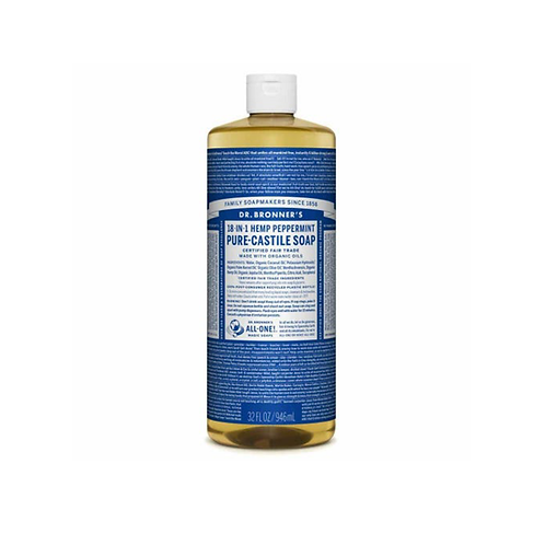 Dr Bronner's - Pure Castile Liquid Soap Peppermint
