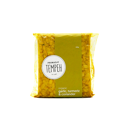 Primasoy Tempeh - Garlic & Coriander 260g