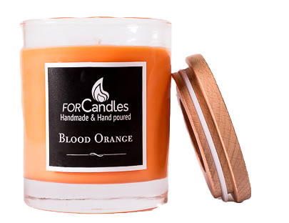 For Candles - Blood Orange Soy Candle
