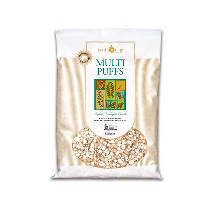 Good Morning Cereals - Multi Puffs 125g NET