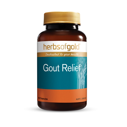 Herbs of Gold -Gout Relief 60VC
