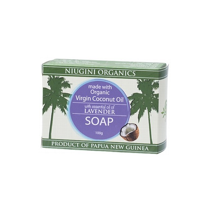 Niugini Organics - Coconut Oil Soap 100g