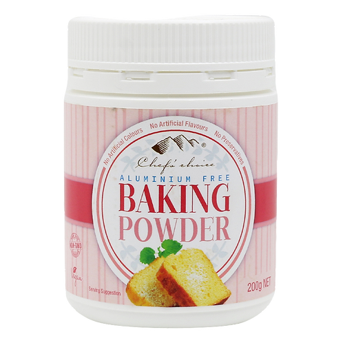 Chefs Choice Dessert - Aluminium Free Baking Powder 200g