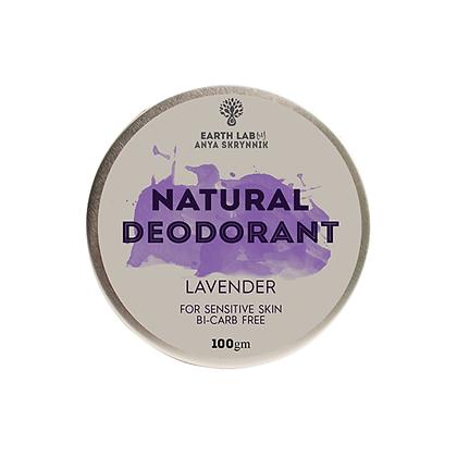 Earth Lab - Lavender Deodorant for Sensitive Skin 100g