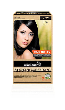 Aromaganic - Permanent Colour Style 1.0N Black (Natural)