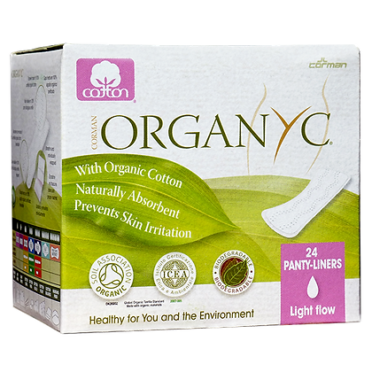 Organyc - Organic Cotton Panty Liners Light (24)