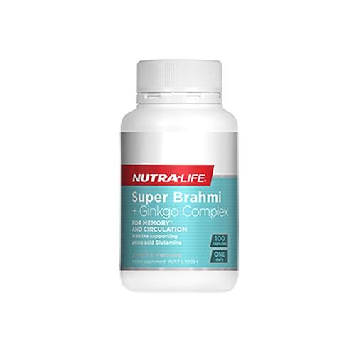 Nutralife - Super Brahmi & Ginkgo 100c