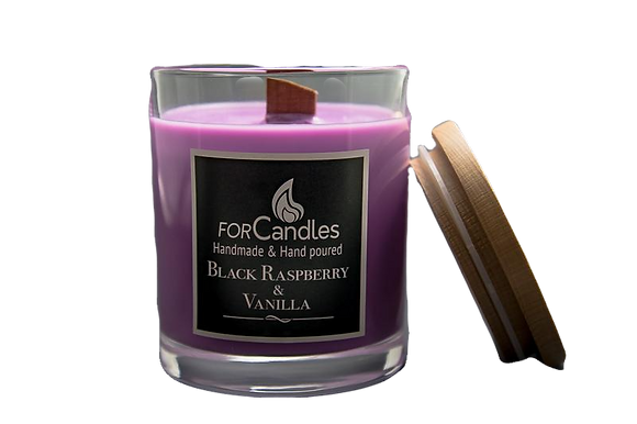 For Candles - Black Raspberry Soy Candle