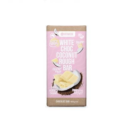 Vitawerx - White Chocolate Coconut Bar 100g