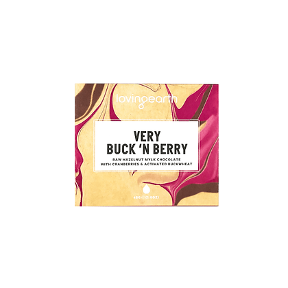 Loving Earth - Very Buck 'N Berry Chocolate Bar 45g