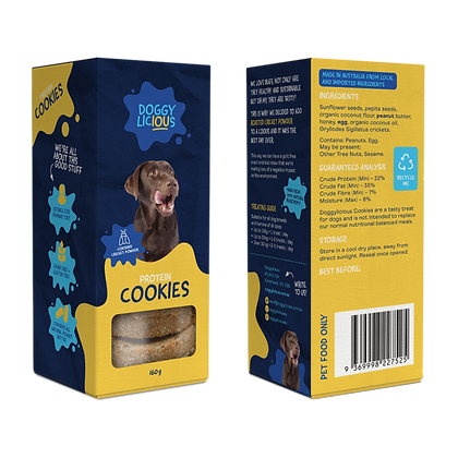 Doggylicious - Protein Cookies 160g