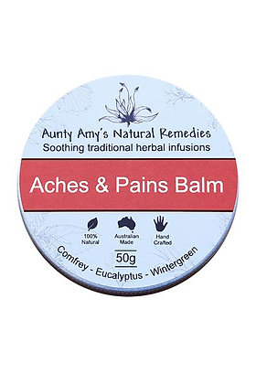 Aunty Amy's Natural Remedies - Aches & Pains Balm