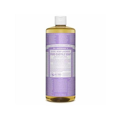 Dr Bronner's - Pure Castile Liquid Soap Lavender