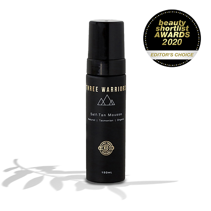 Three Warriors - Self Tanning Mousse 150ml