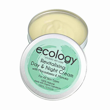 Ecology - Revitalising Day and Night Cream with Macadamia and Manuka