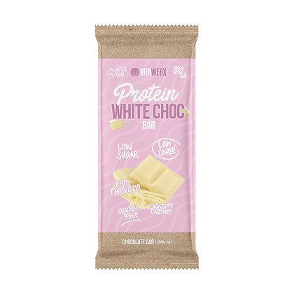 Vitawerx - White Chocolate Bar 100g