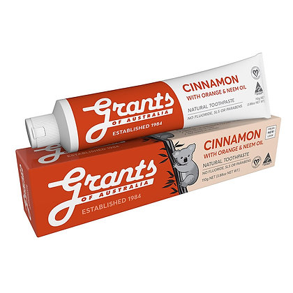 Grants - Australian Cinnamon Toothpaste