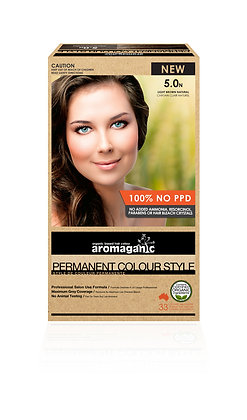 Aromaganic - Permanent Colour Style  5.0N Light Brown (Natural)