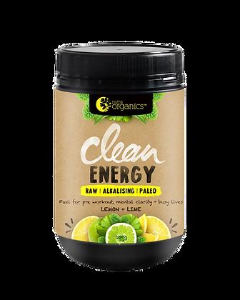 Nutraorganics - Clean Energy Lemon + Lime