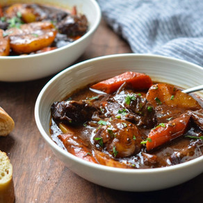 Hearty immune boosting casserole