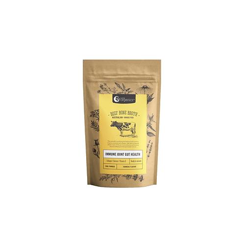 Nutraorganics - Beef Bone Broth Turmeric 100g