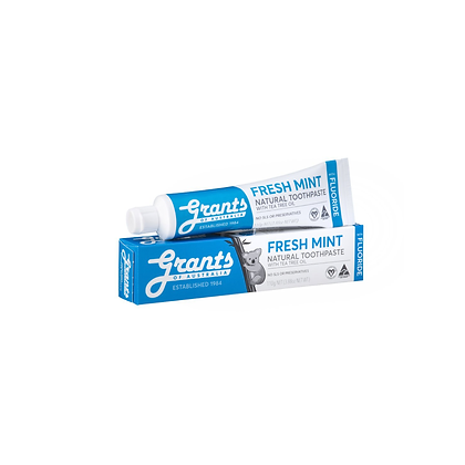 Grants - Fresh Mint Toothpaste with Tea Tree