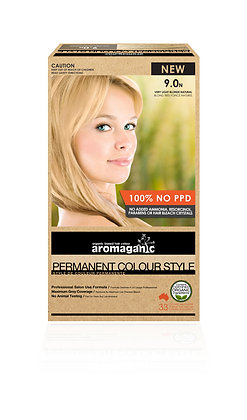 Aromaganic - Permanent Colour Style 9.0N Very Light Blonde (Natural)