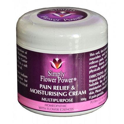 Simply Flower Power - Pain Relief and Moisturising Cream 100g