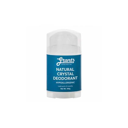Grants - Natural Crystal Deodorant 100g