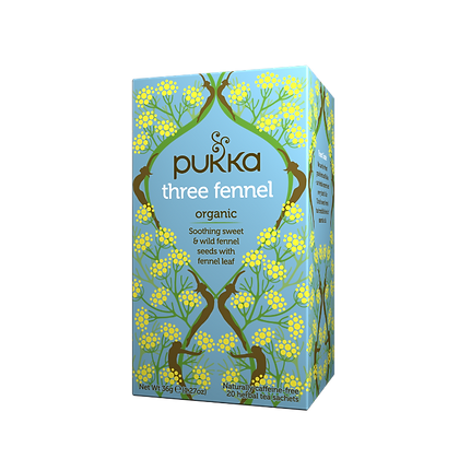Pukka Tea Bags - Three Fennel