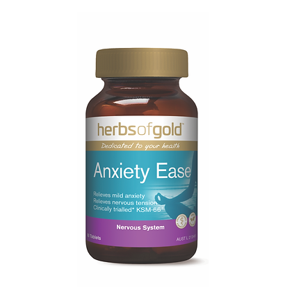 Herbs of Gold - Anxiety Ease 60T