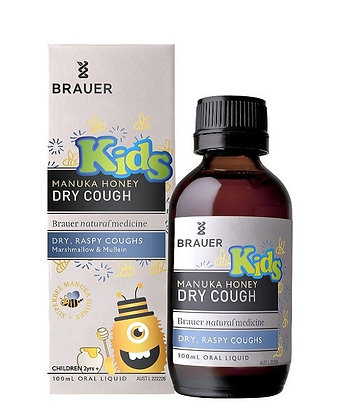 Brauer - Kids Dry Cough 100ml
