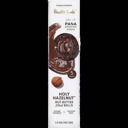 Health Lab - Holy Hazelnut Nut-Butter Filled Balls (5 Pack)