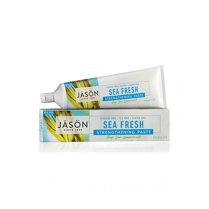 Jasons Natural Products - Sea Fresh Strengthening Toothpaste 170g