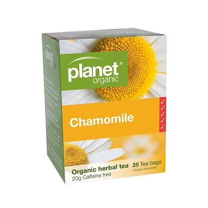 Planet Organic - Chamomile Organic Tea 25 Bags