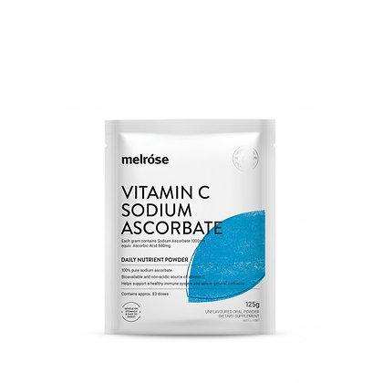 Melrose -  Vitamin C Sodium Ascorbate 125g