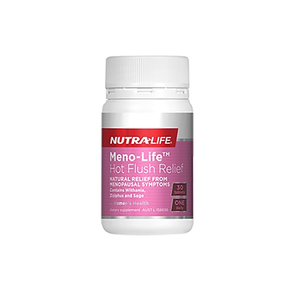 Nutralife - MenoLife Hot Flush Relief 30t