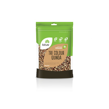 Lotus - Quinoa Grain Tri Colour 500g