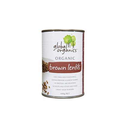 Global Organics - Lentils 400g