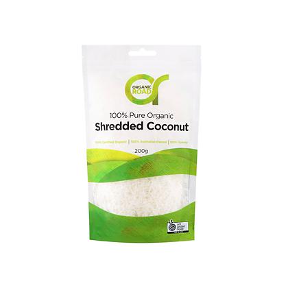 Organic Road - Shredded Coconut 200g