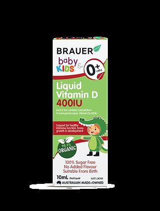 Brauer - Baby & Kids Liquid Vitamin D 400IU 10ml
