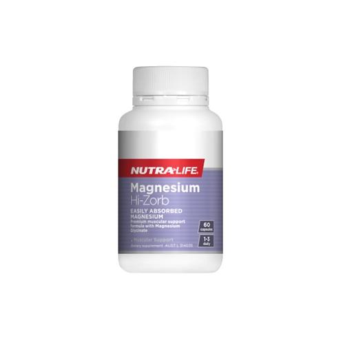 Nutralife - Magnesium Hi Zorb 60c