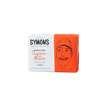 Symons Organic Dairy - Organic Grass Fed UnSalted Butter 250g