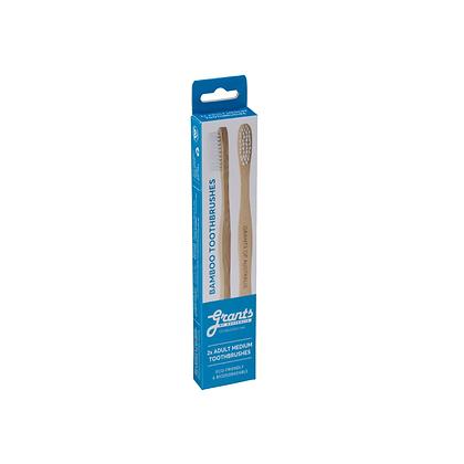 Grants - Adult Medium Bamboo Toothbrush