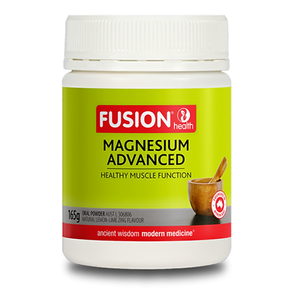 Fusion Health - Magnesium Advanced Pwd Lemon Lime