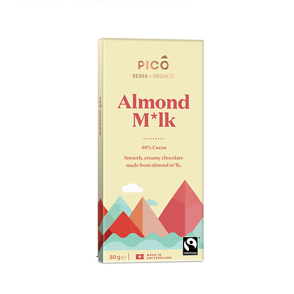 Pico - Almond Milk Chocolate 80g