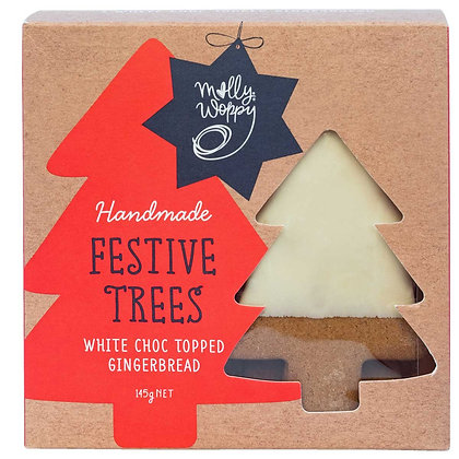 Milly Woppy - Festive Trees White Choc Gingerbread