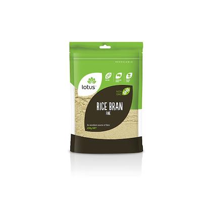 Lotus - Rice Bran 450g