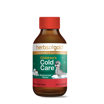 Herbs of Gold - Children's Cold Care 100ML