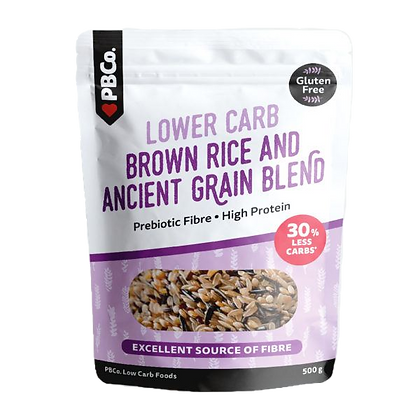 PB Co - Low Carb Brown Rice Blend & Ancient Grain 500g